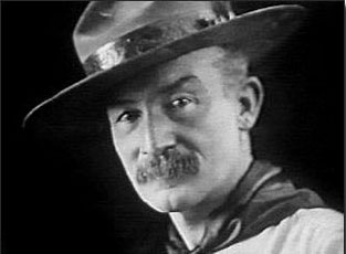 Baden Powell Le chef Scout